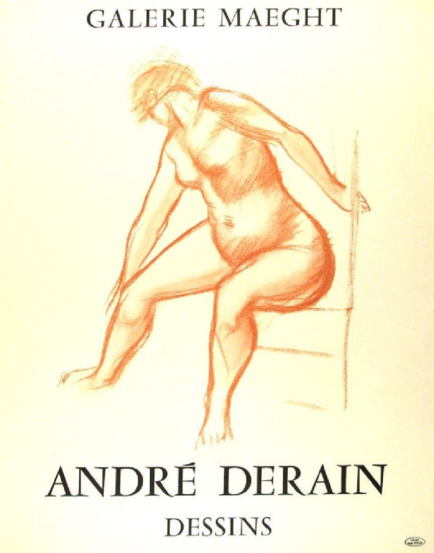 1305: ANDRÉ DERAIN - Andre Derain: Dessins. Galerie