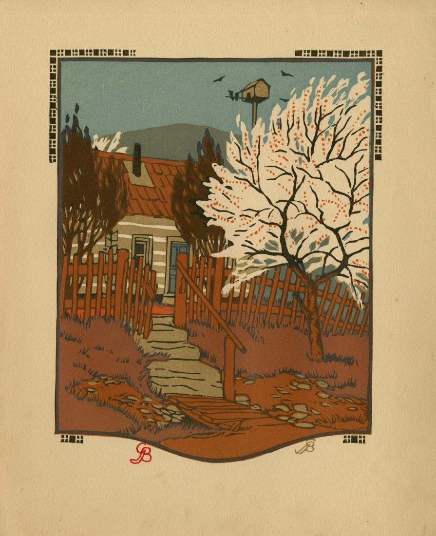 1313: GUSTAVE BAUMANN - April