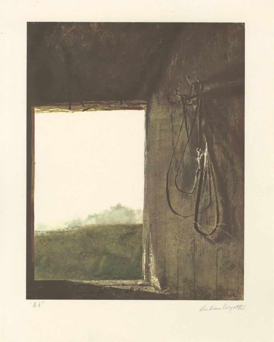 1355: ANDREW WYETH - Burning Off