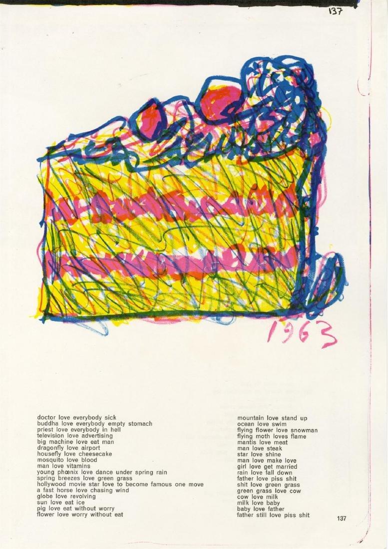 1358: CLAES OLDENBURG - Cake