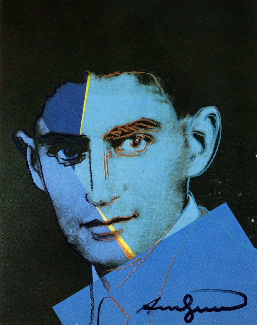 1465: ANDY WARHOL - Franz Kafka