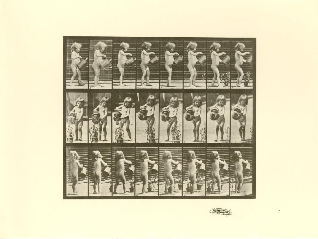 1482: EADWEARD MUYBRIDGE [d'apres] - Girl Watering