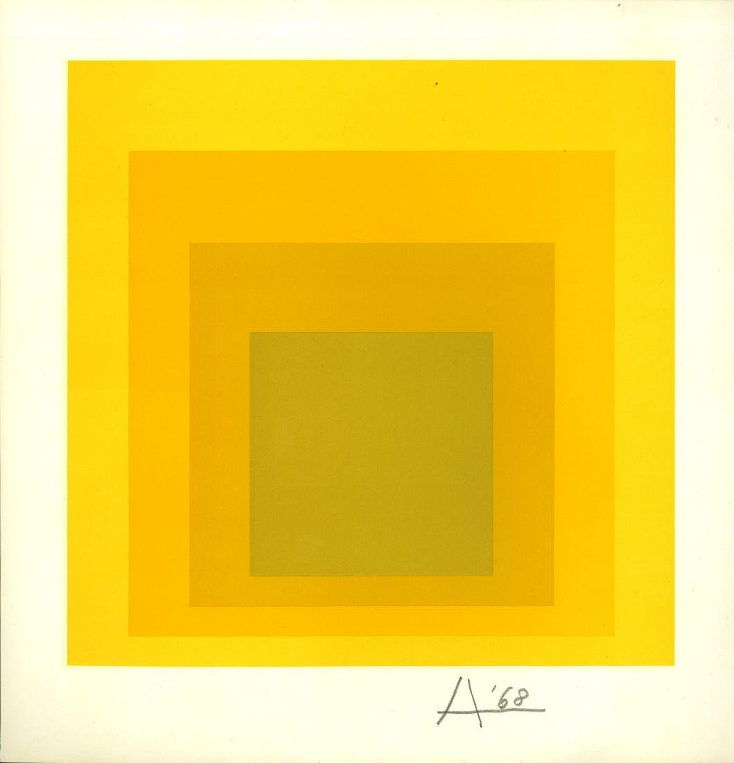 1520: JOSEF ALBERS - Homage to the Square: Potent