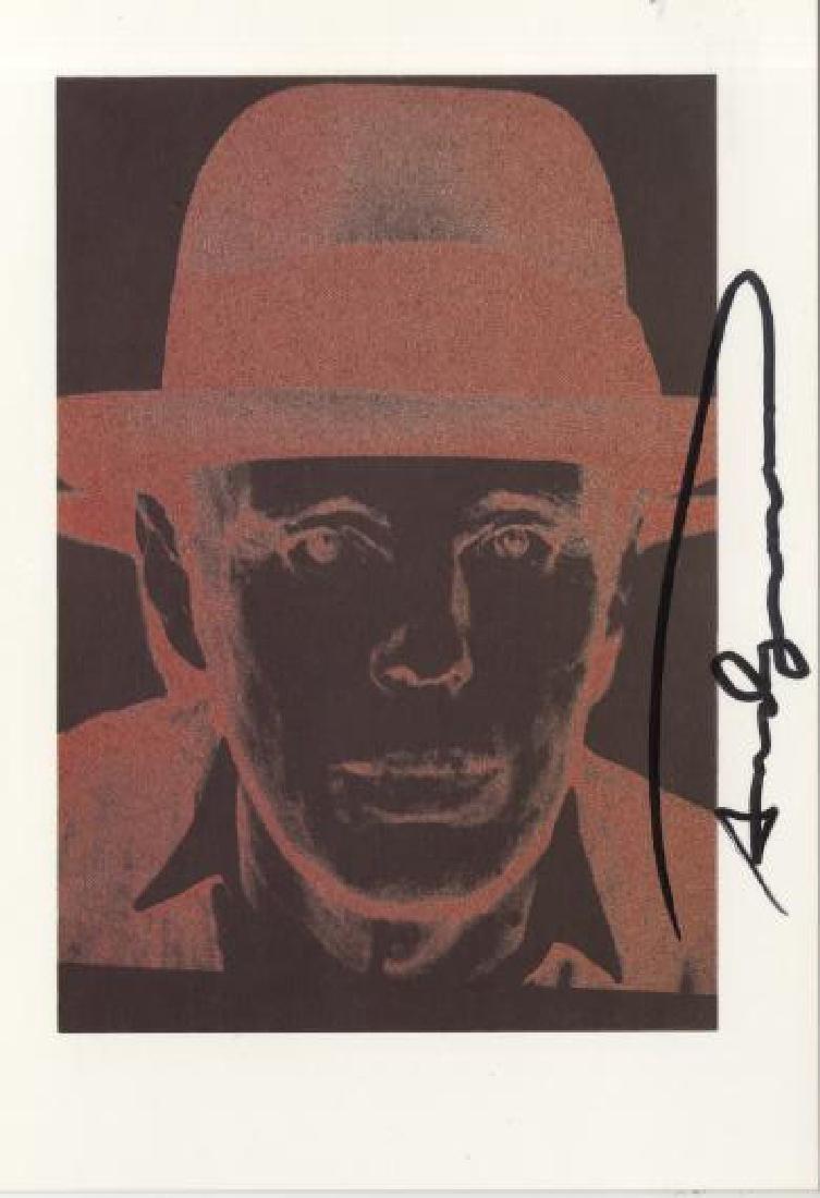1571: ANDY WARHOL - Joseph Beuys
