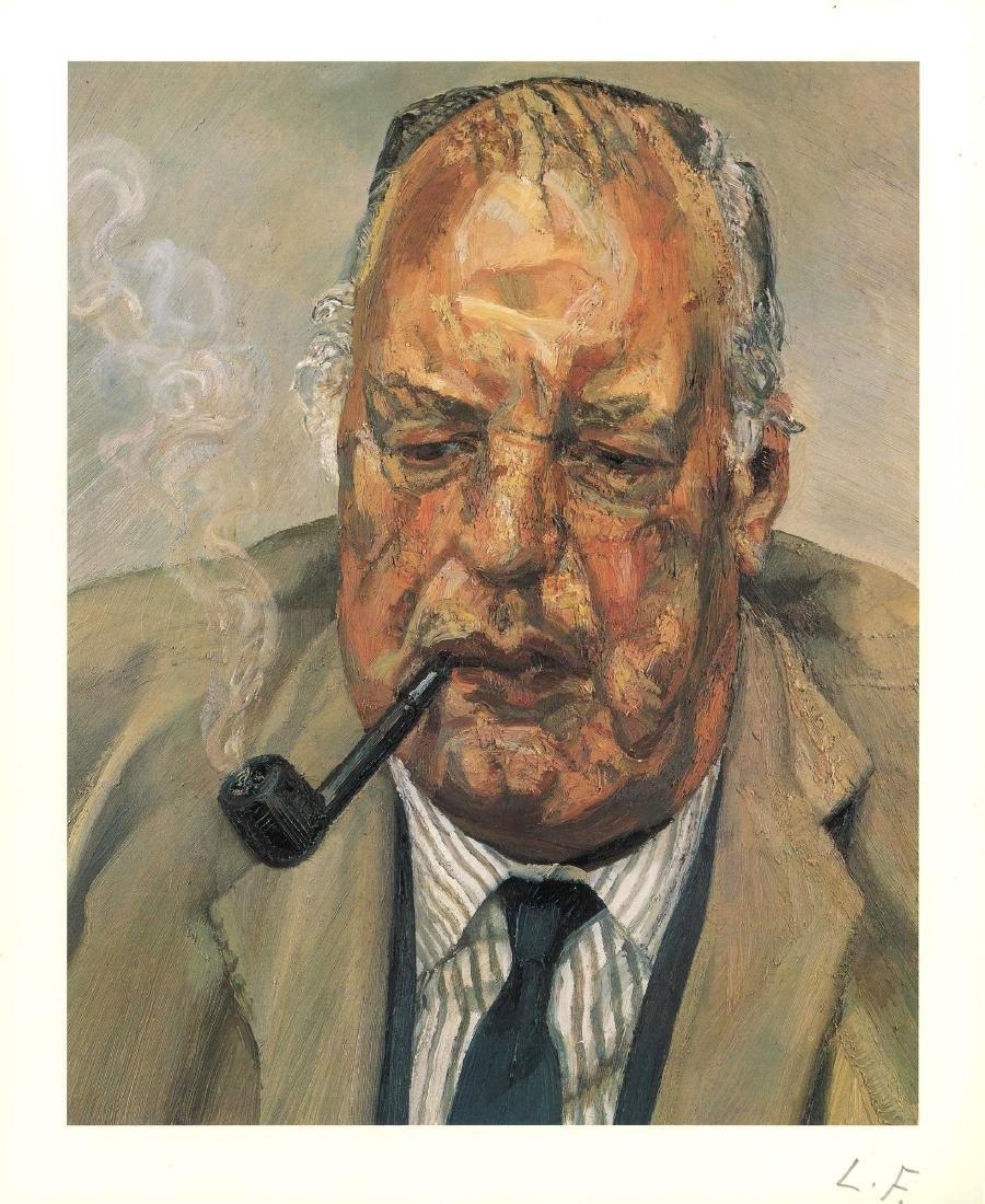 1622: LUCIAN FREUD - Man Smoking