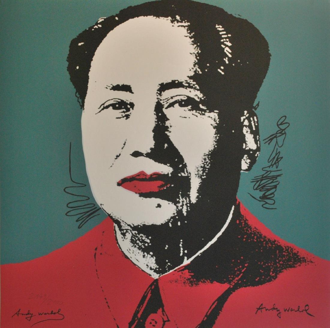 1632: ANDY WARHOL [d'apres] - Mao #06