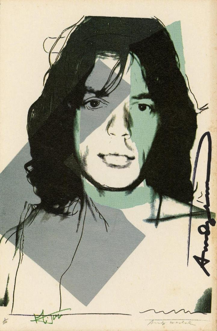 1665: ANDY WARHOL - Mick Jagger #01 [second edition]