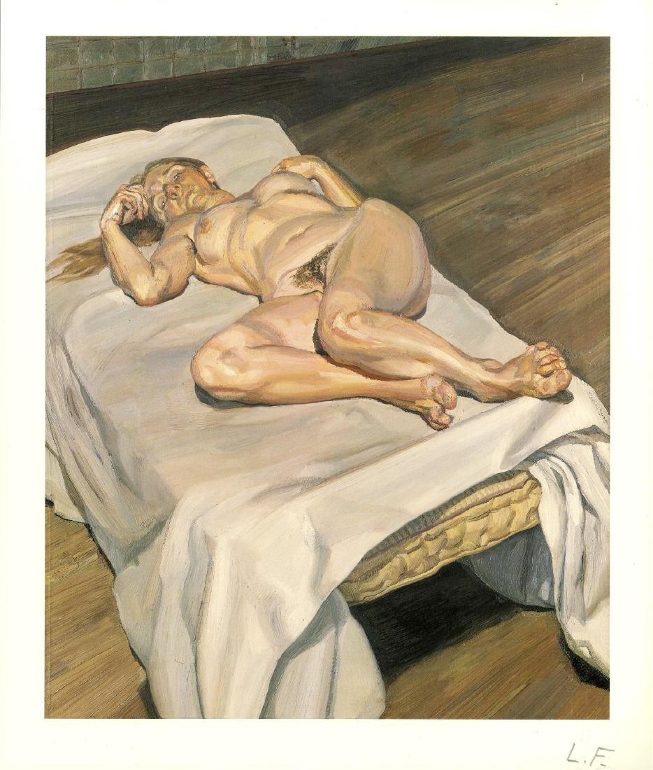 1713: LUCIAN FREUD - Night Portrait