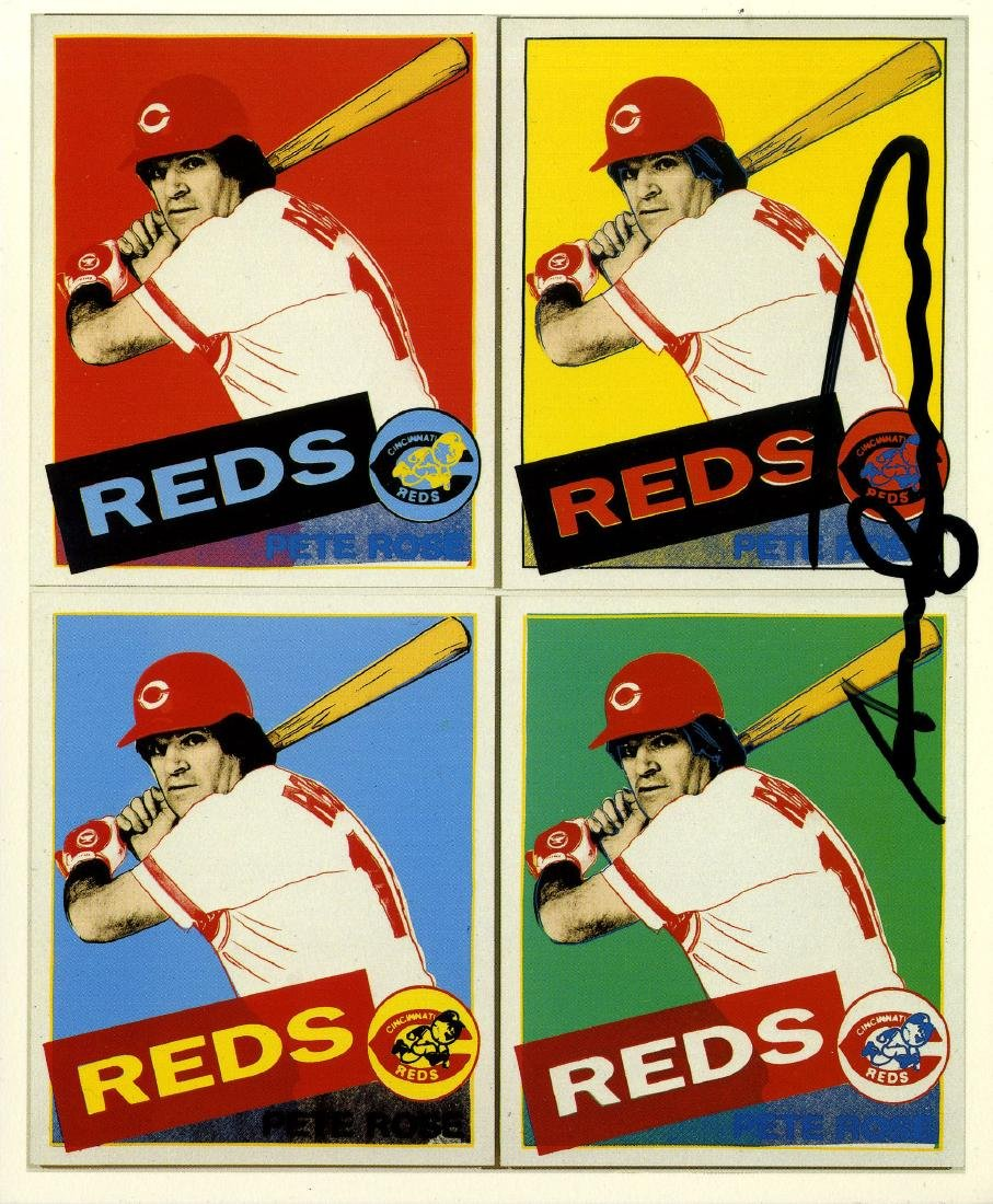 1761: ANDY WARHOL - Pete Rose
