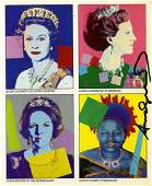 1816 ANDY WARHOL  Reigning Queens