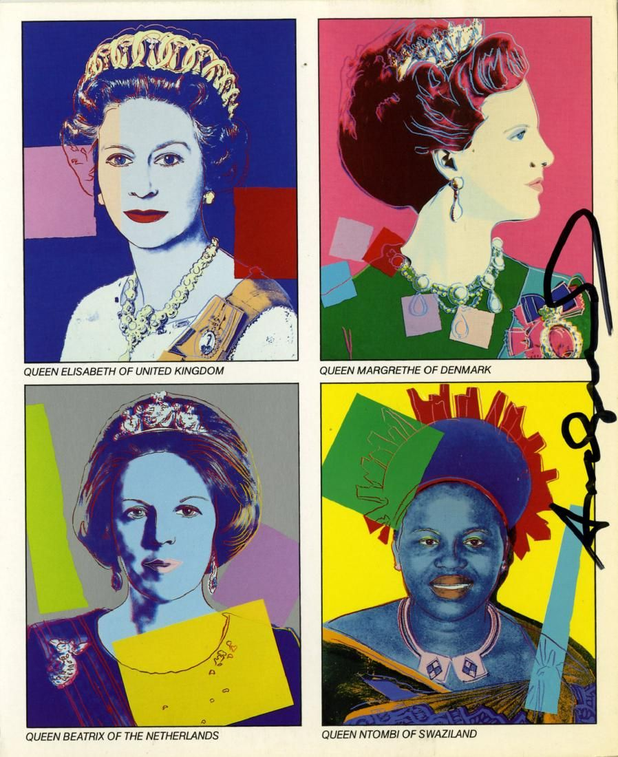 1816: ANDY WARHOL - Reigning Queens