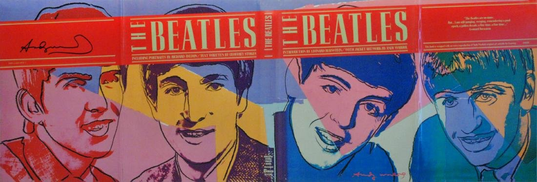 1890: ANDY WARHOL - The Beatles #2