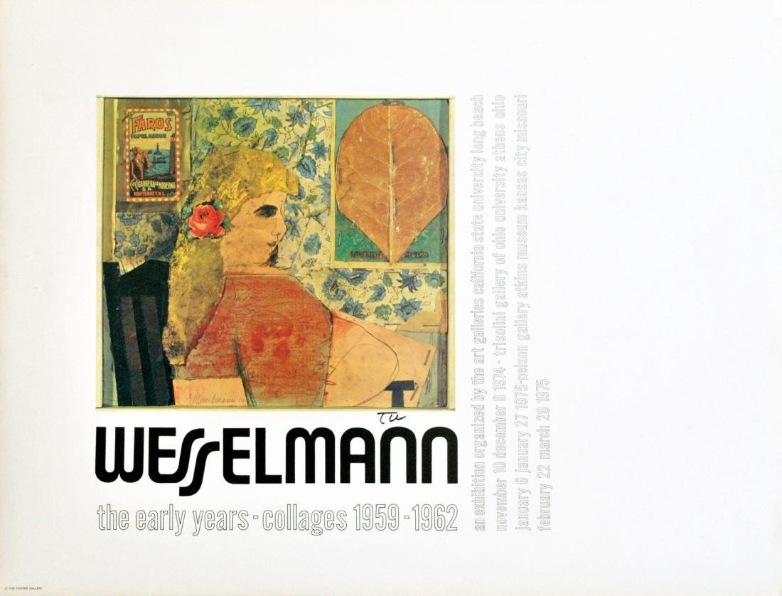 1892: TOM WESSELMANN - The Early Years