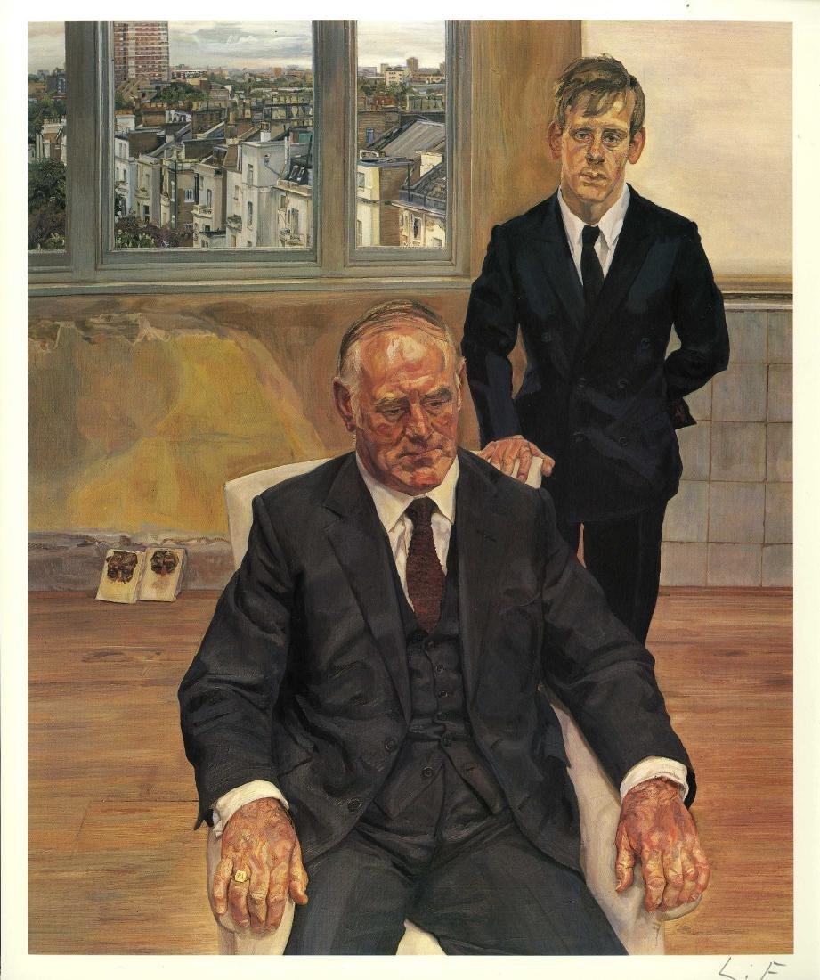 1929: LUCIAN FREUD - Two Irishmen in W11