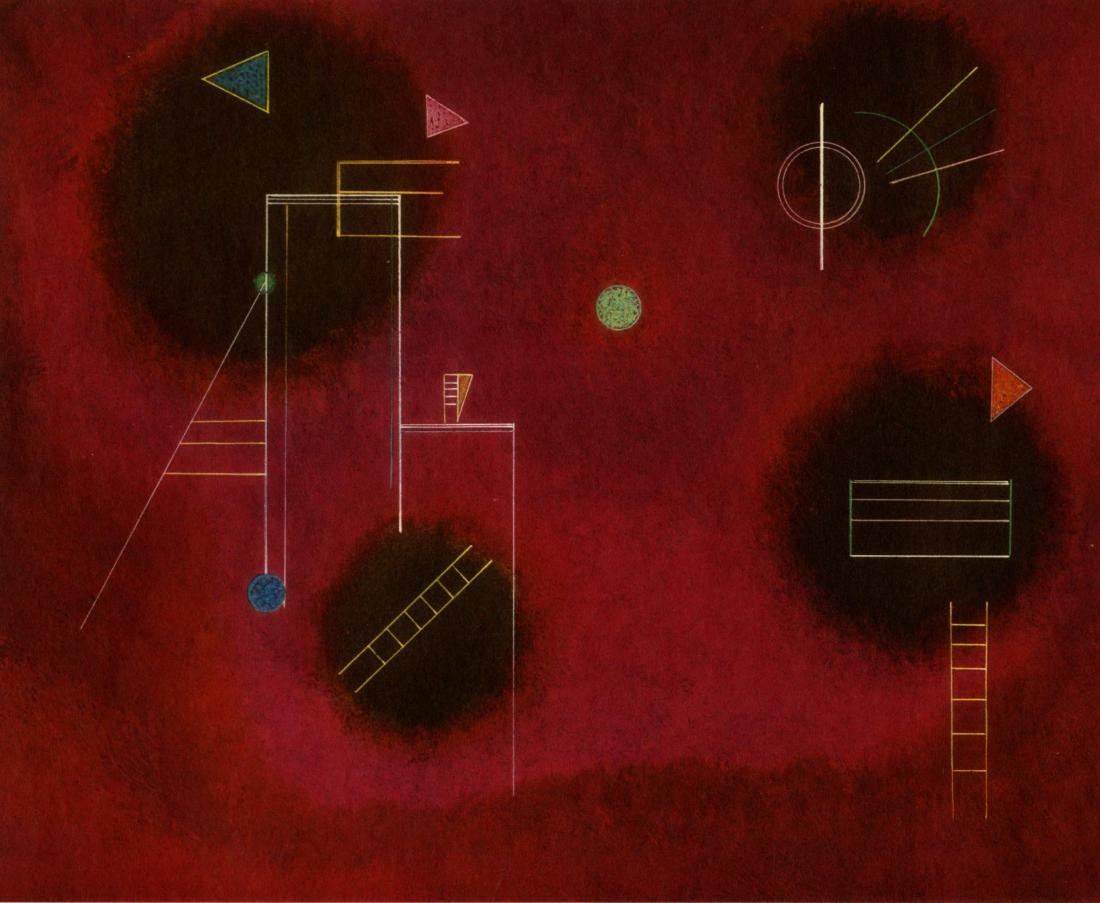 1961: WASSILY KANDINSKY - Vier Flecken (Four Splashes)