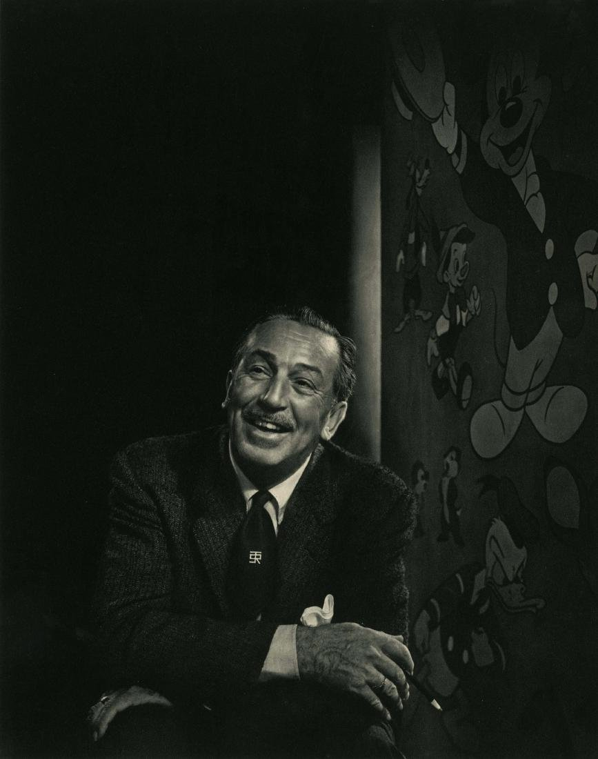 1966: YOUSUF KARSH - Walt Disney