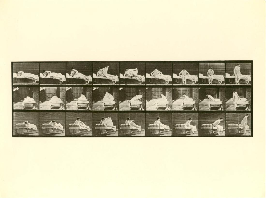 1975: EADWEARD MUYBRIDGE [d'apres] - Woman Getting up