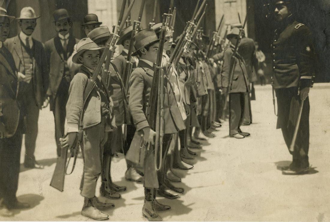 5: C. B. WAITE - Young Recruits