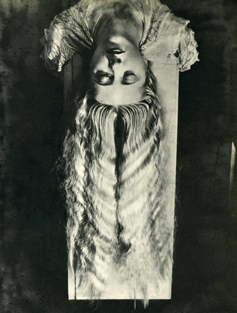 16: MAN RAY - Woman with Long Hair