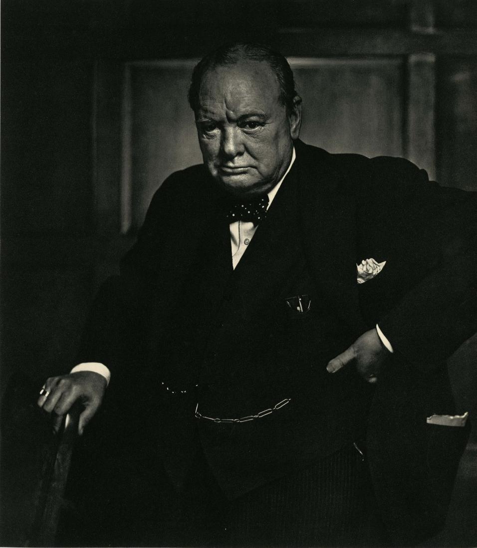 21: YOUSUF KARSH - Winston Churchill