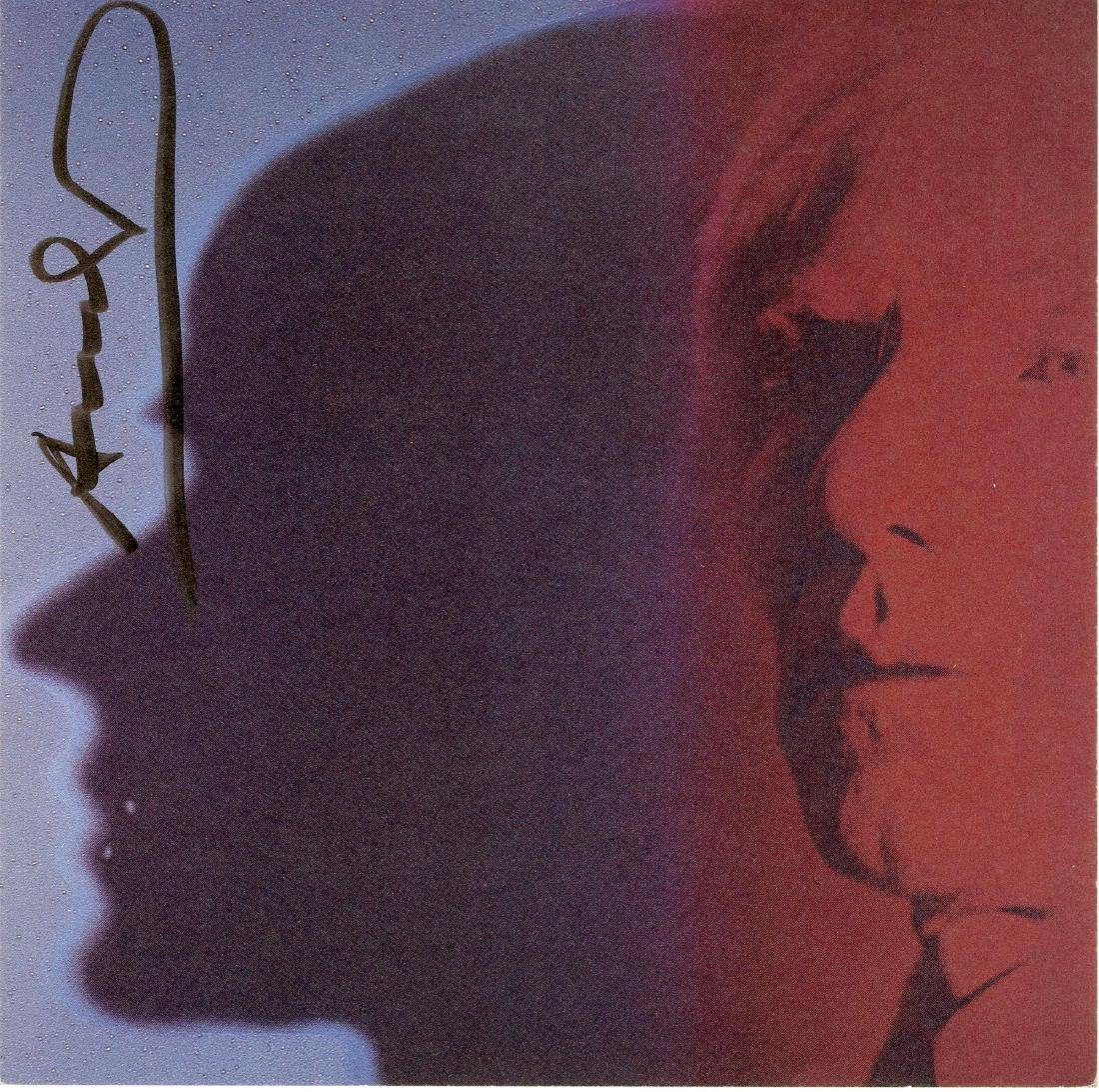 83: ANDY WARHOL - The Shadow [Andy Warhol]