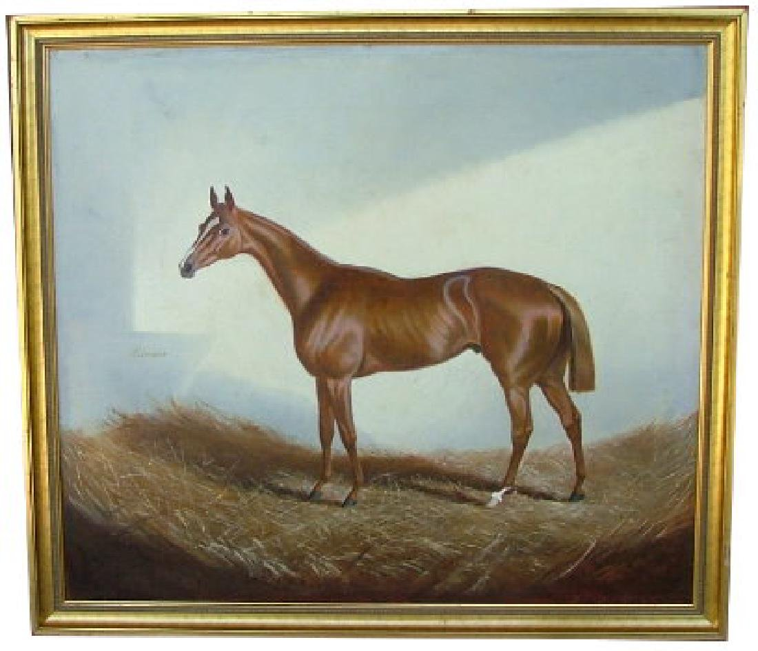 85: ALFONSO GRAY/GREY - The Racehorse 'Recorder'