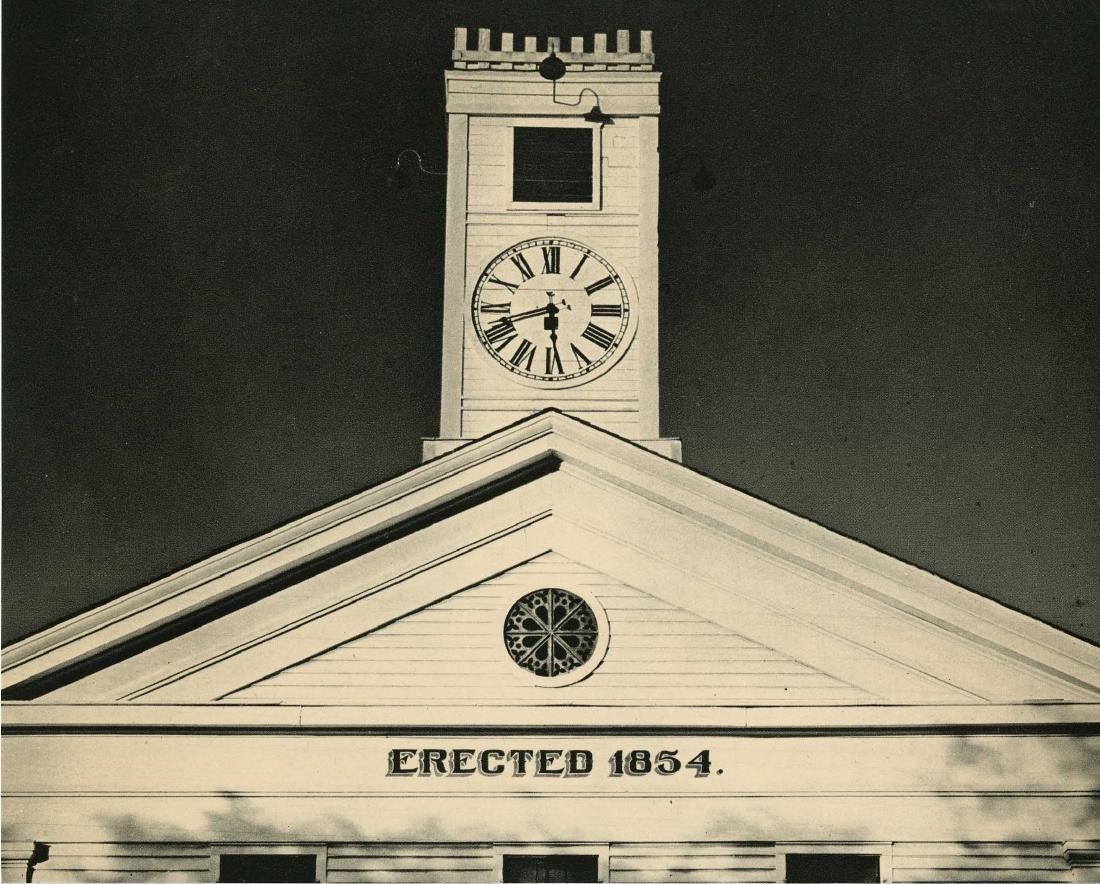 100: ANSEL ADAMS - The Courthouse, Mariposa, California