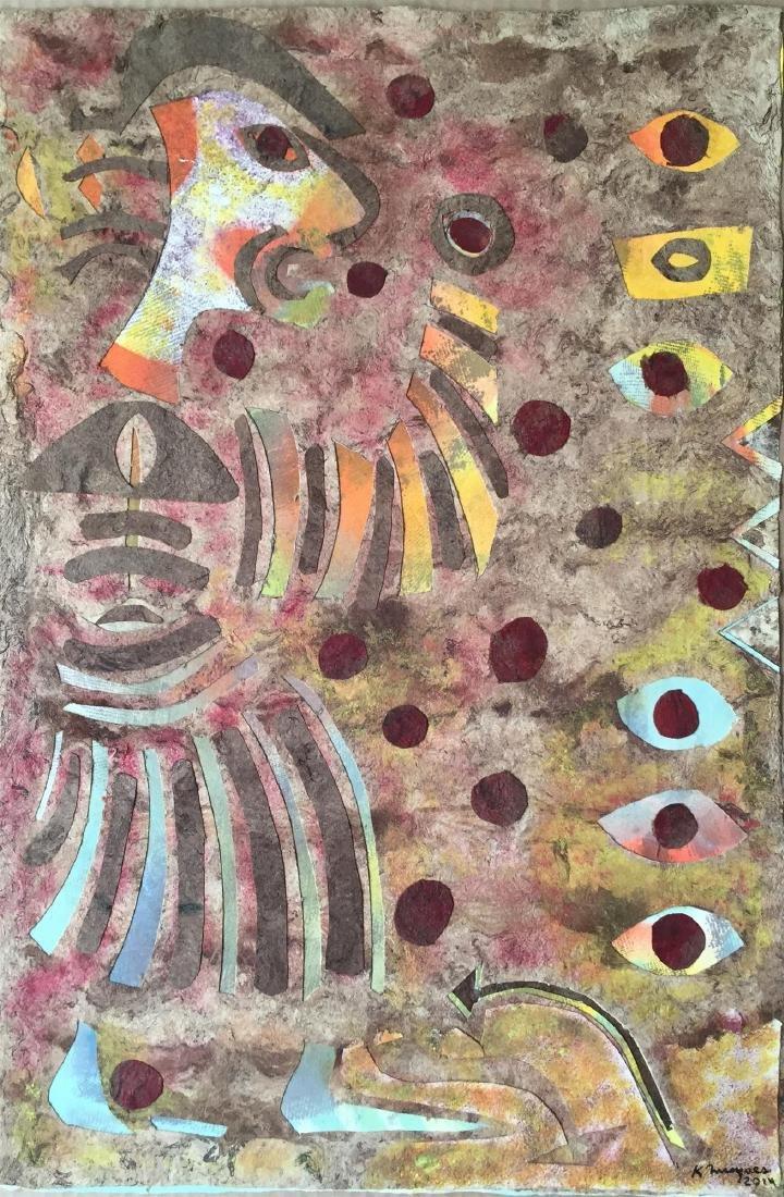 151: KARIMA MUYAES - Shaman Walking into Fire