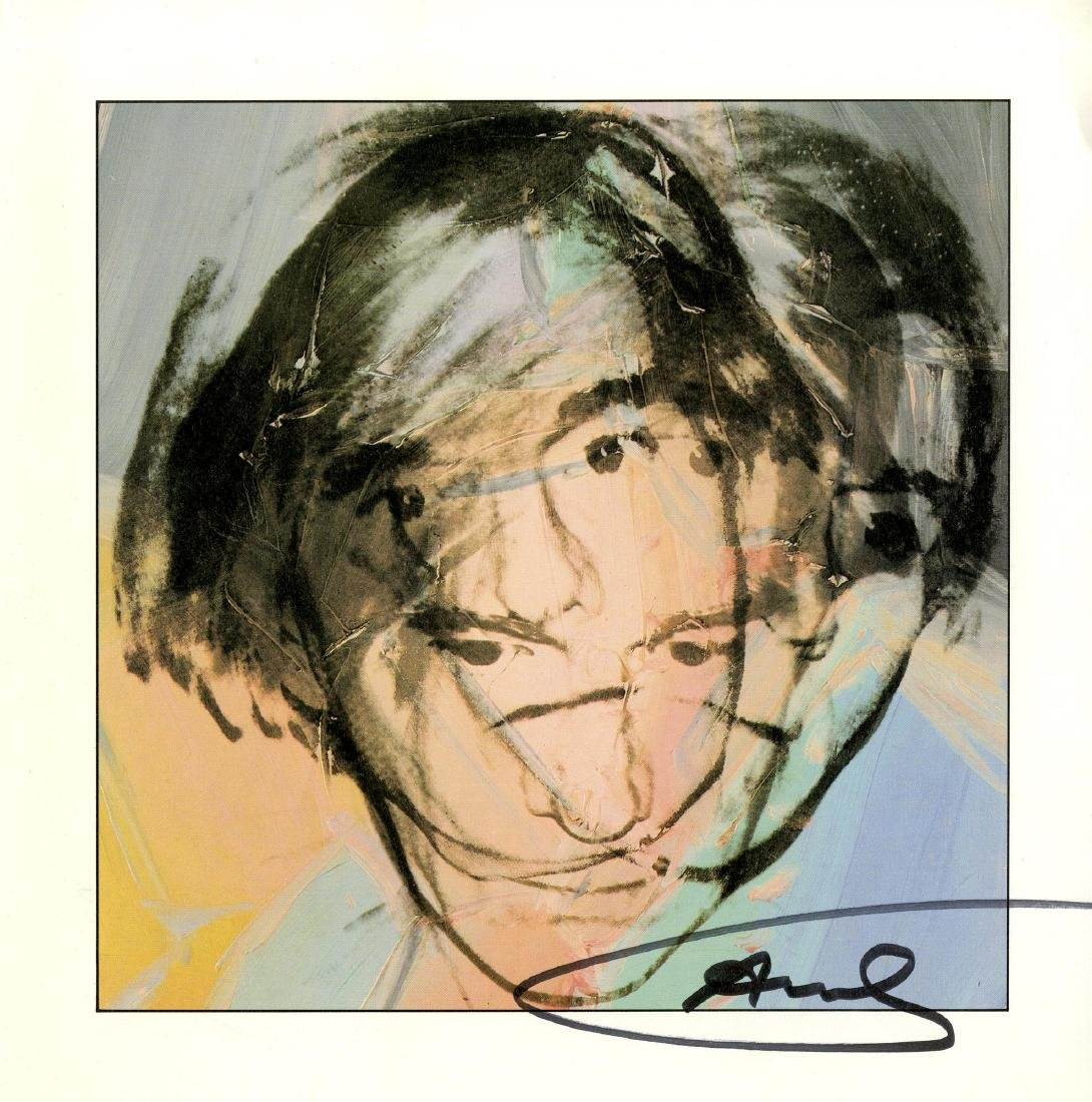 156: ANDY WARHOL - Self-Portrait
