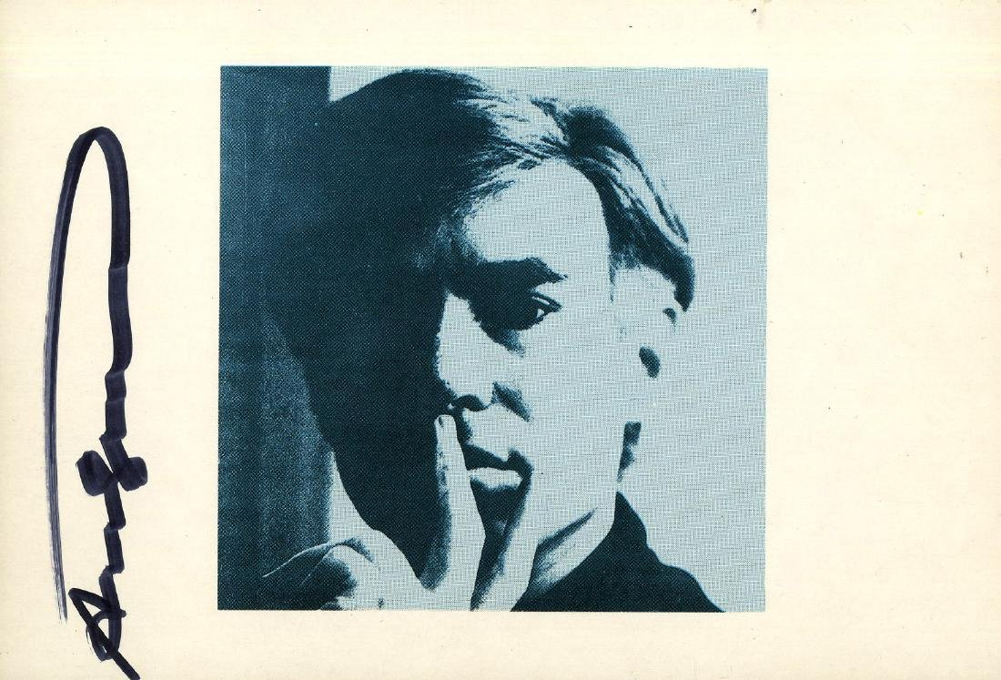 157: ANDY WARHOL - Self-Portrait