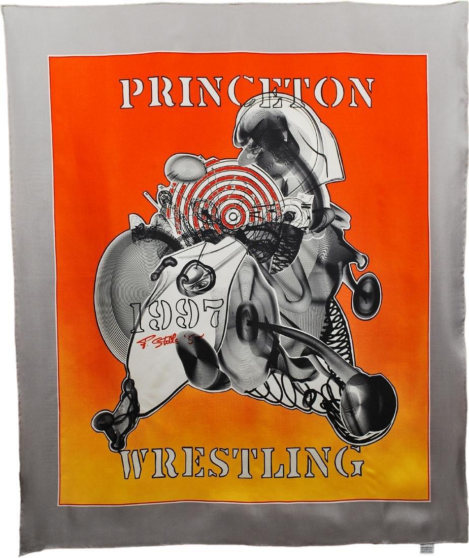 193: FRANK STELLA - Princeton Wrestling Scarf [Chiffon]