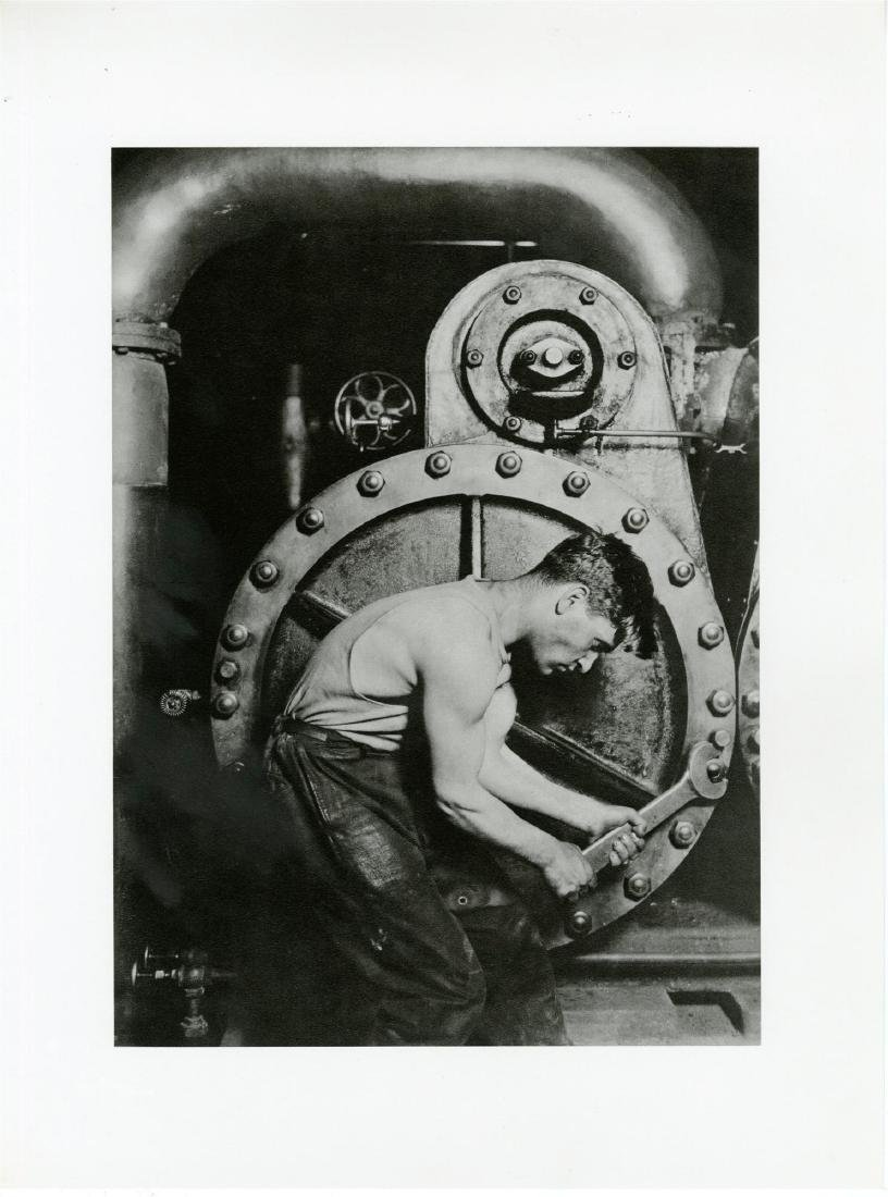 195: LEWIS HINE - Powerhouse Mechanic