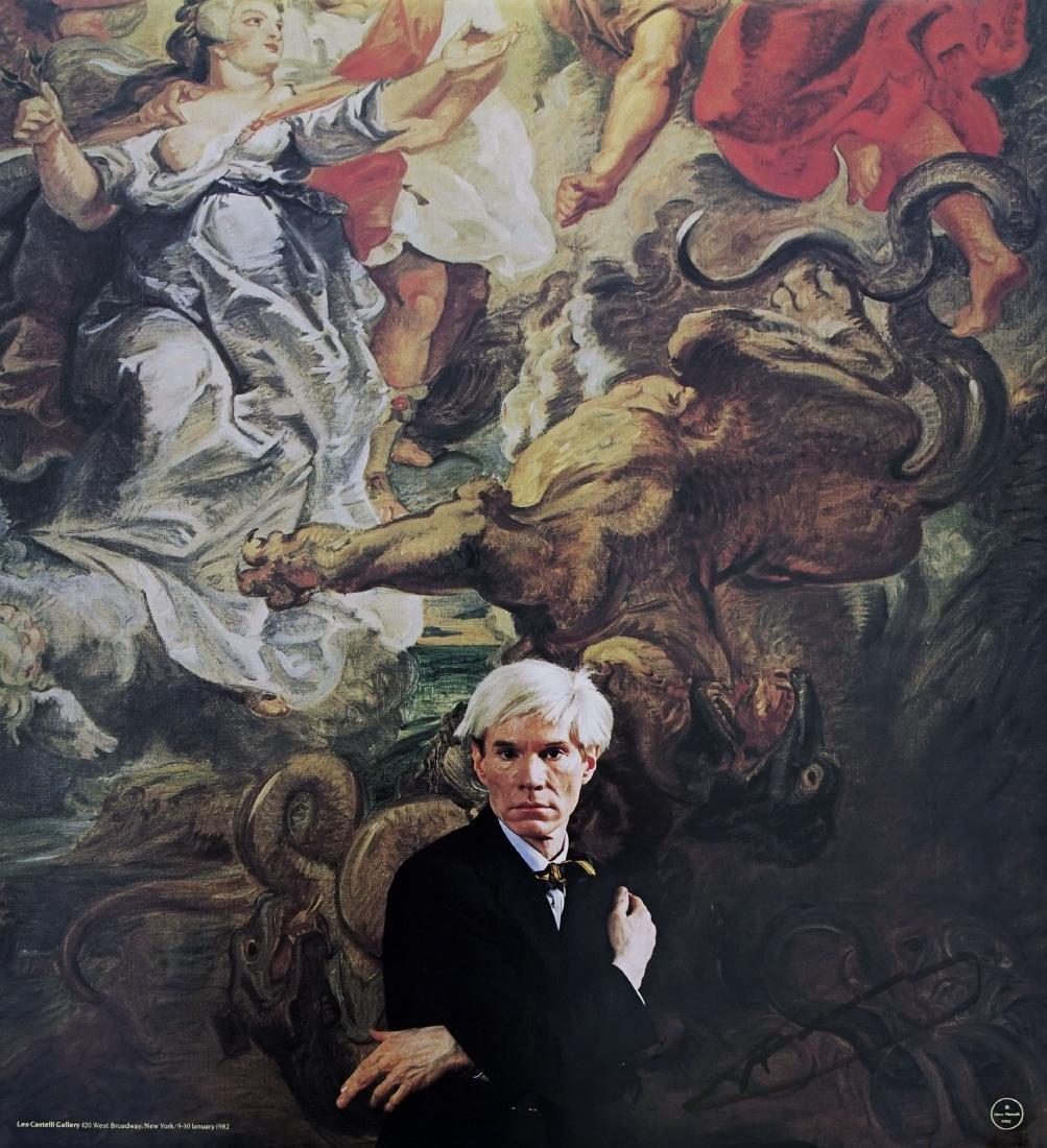 197: ANDY WARHOL - Portrait of Andy Warhol