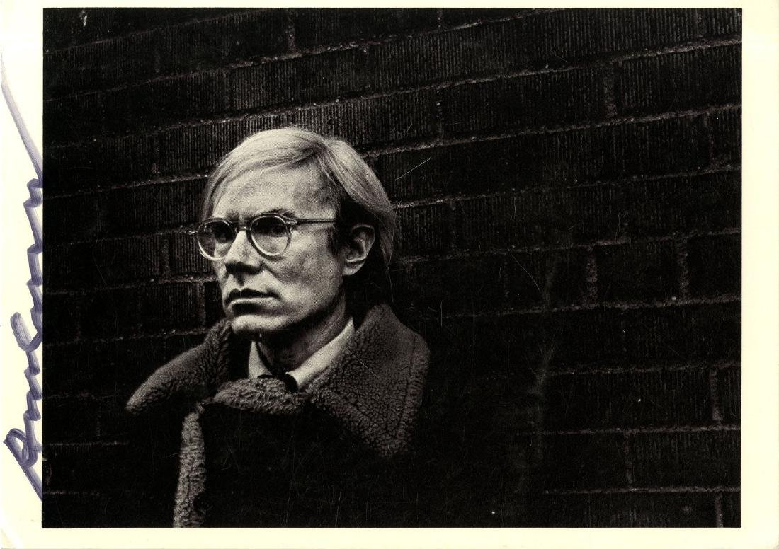 198: ANDY WARHOL - Portrait of Andy Warhol