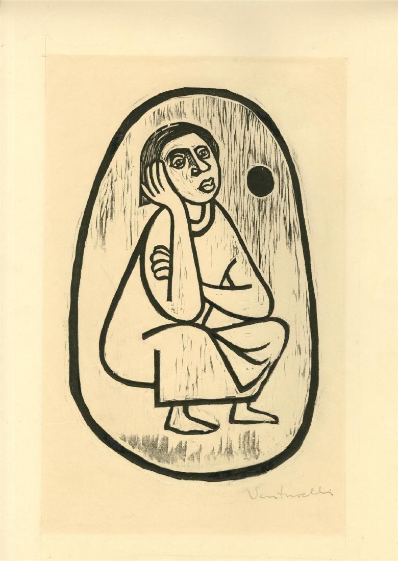 210: JOSE VENTURELLI - Pensive Woman