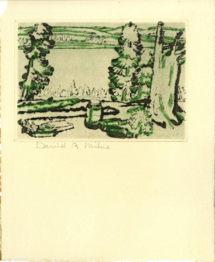 215: DAVID B. MILNE - Painting Place/Hilltop