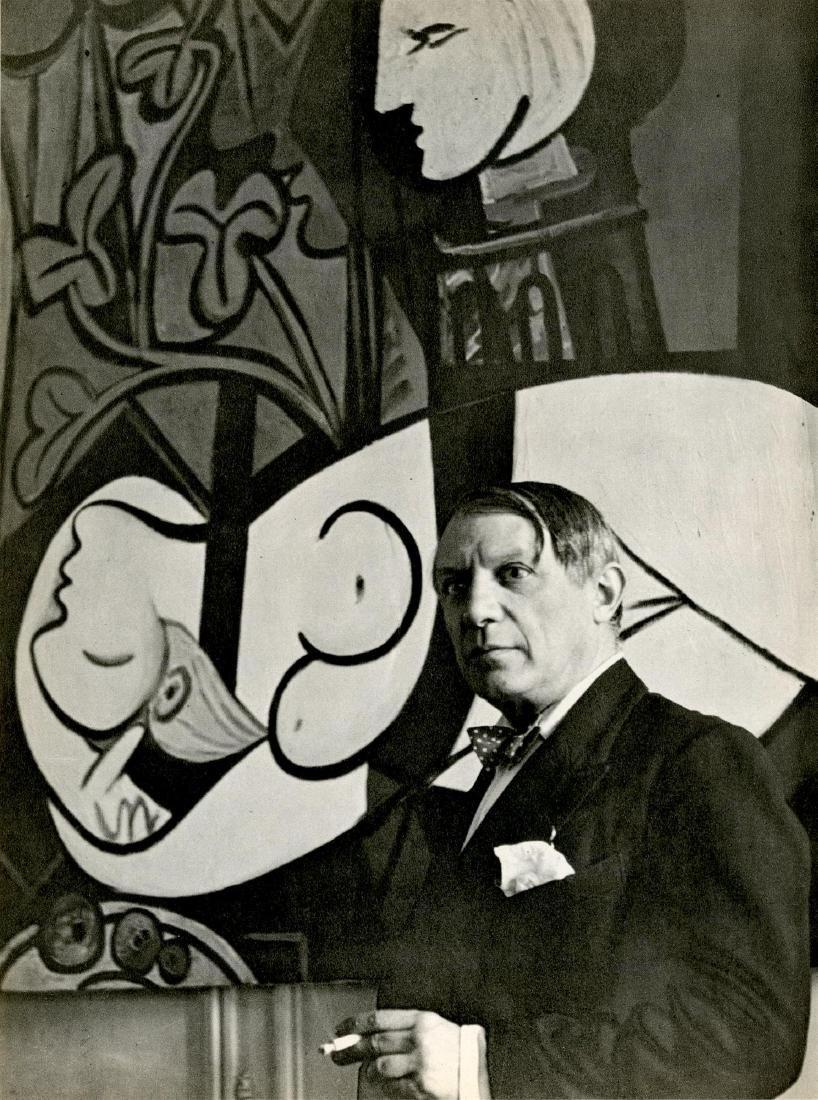 216: CECIL BEATON - Pablo Picasso, rue de la Boetie #2