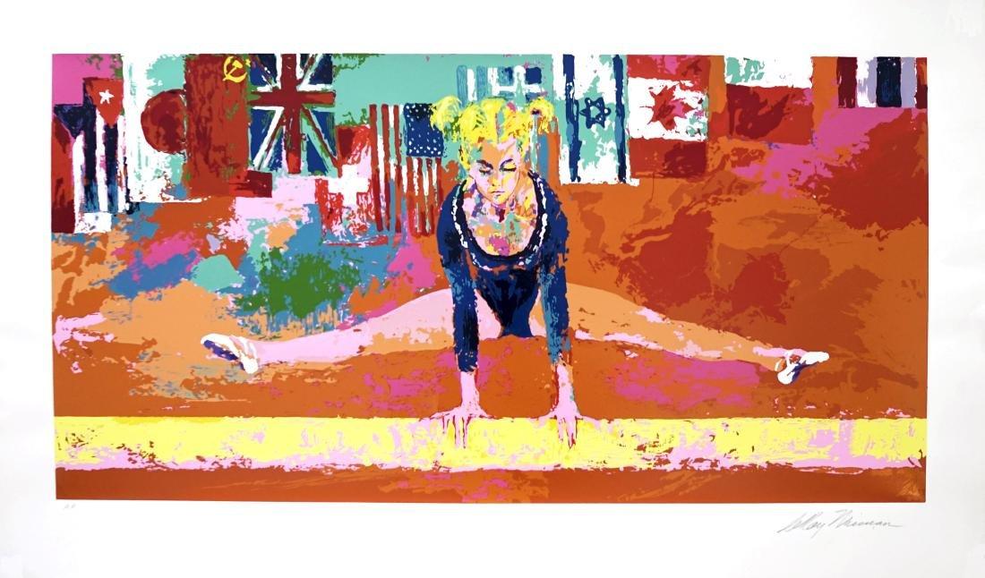 225: LEROY NEIMAN - Olympic Gymnast