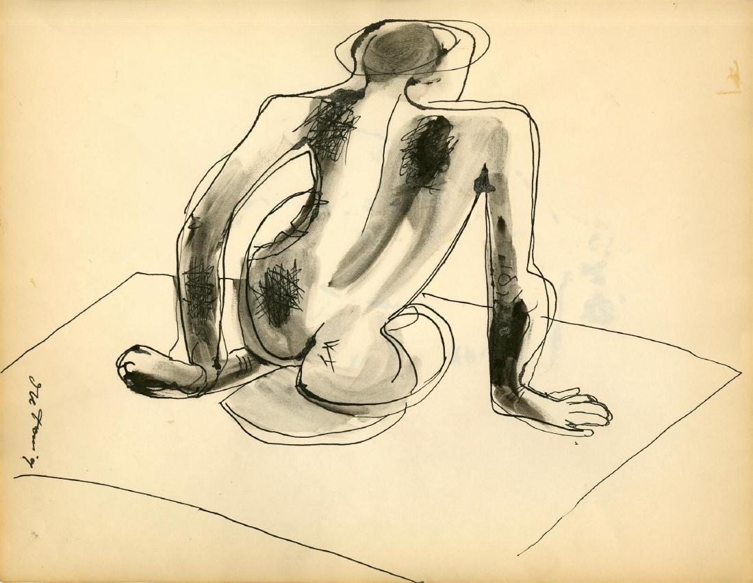 231: WILLEM DE KOONING - Nude Composition
