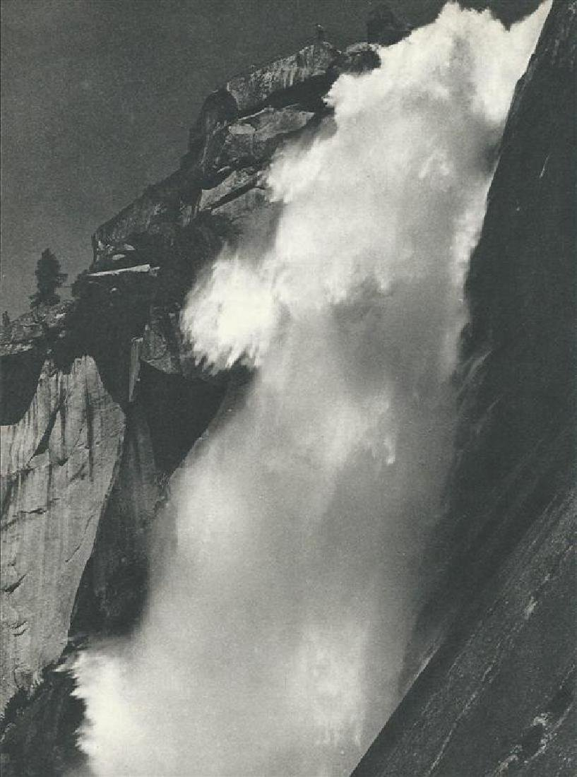 244: ANSEL ADAMS - Nevada Fall, Yosemite Valley,