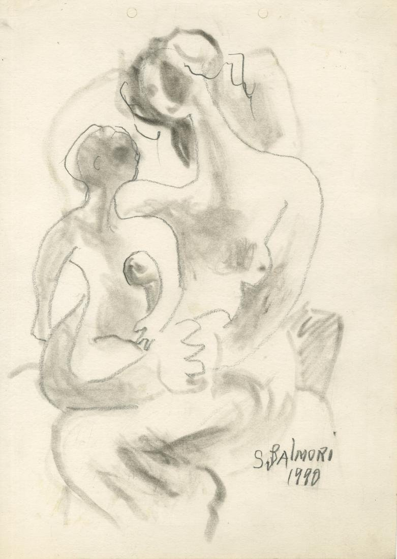 254: SANTOS BALMORI - Mujer con el Niño