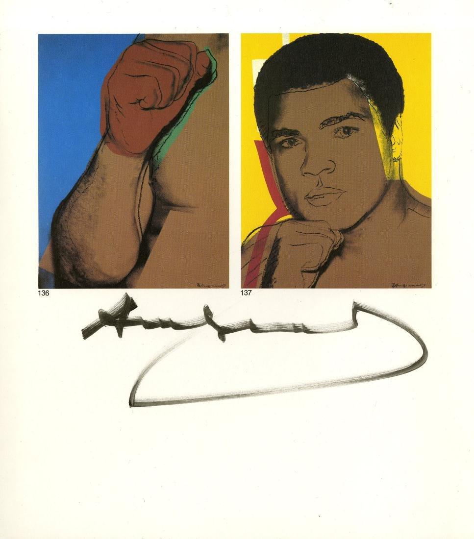 255: ANDY WARHOL - Muhammad Ali