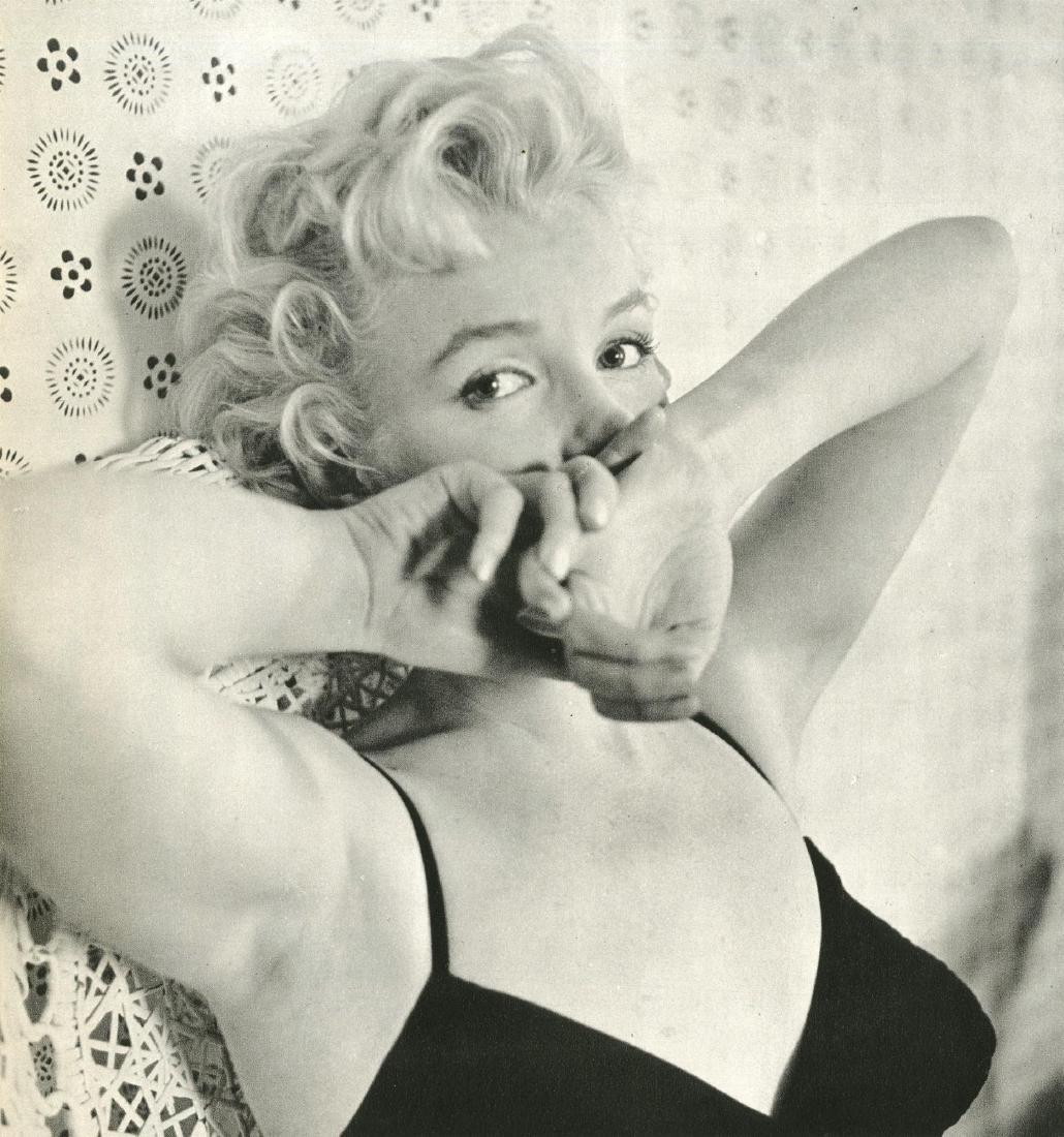 277: CECIL BEATON - Marilyn Monroe 1956 #2
