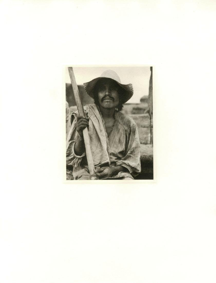282: PAUL STRAND - Man with a Hoe, Los Remedios