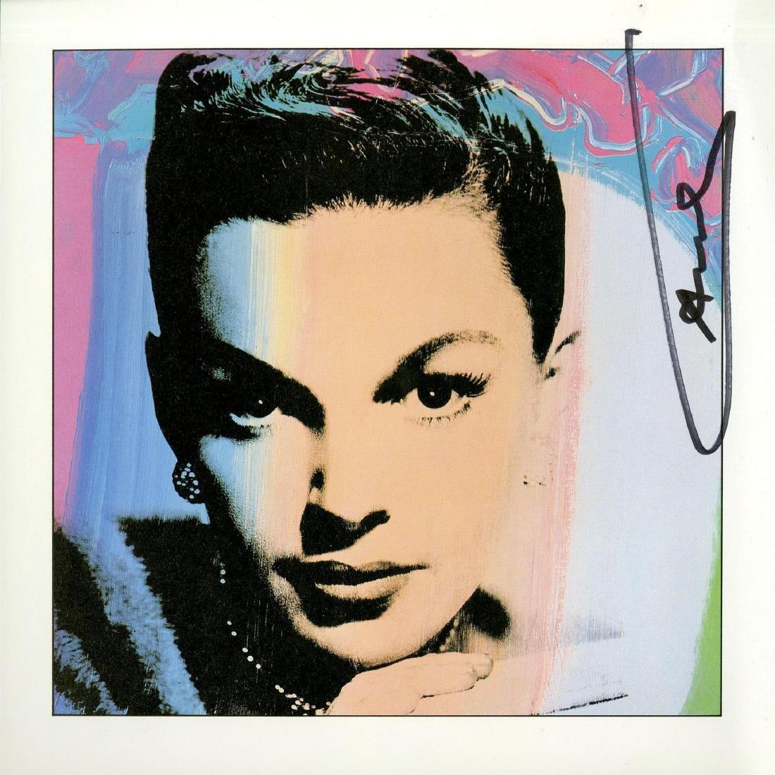 328: ANDY WARHOL - Judy Garland