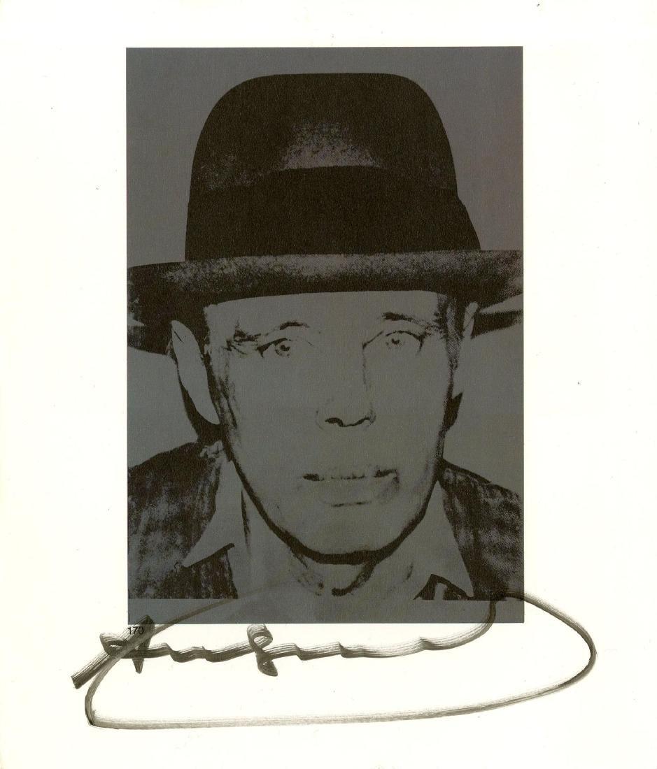 329: ANDY WARHOL - Joseph Beuys