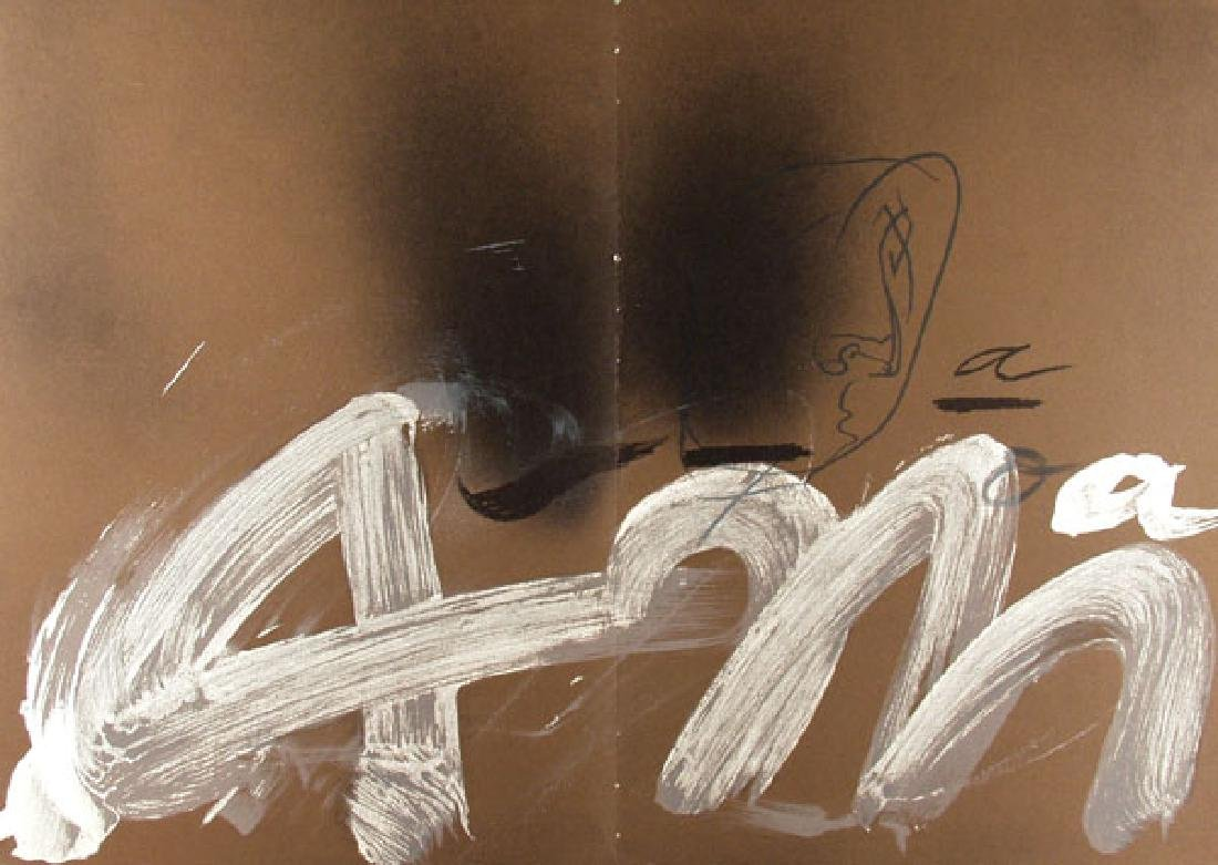 347: ANTONI TAPIES - Hommage a Aime Maeght
