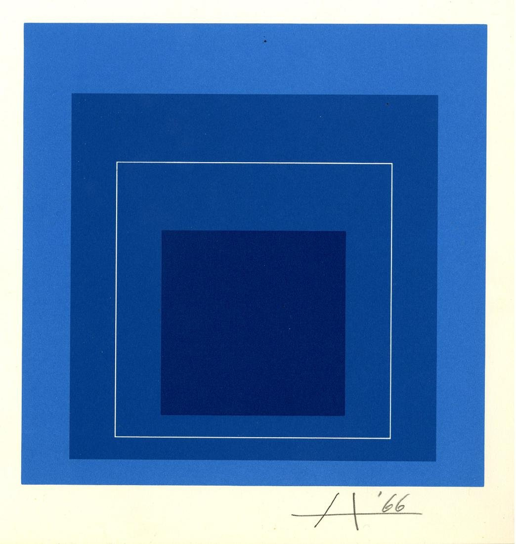351: JOSEF ALBERS - Homage to the Square: White Line