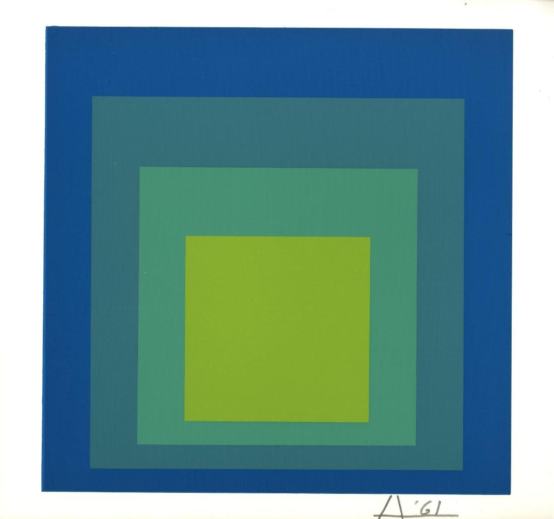 355: JOSEF ALBERS - Homage to the Square: Tremolo