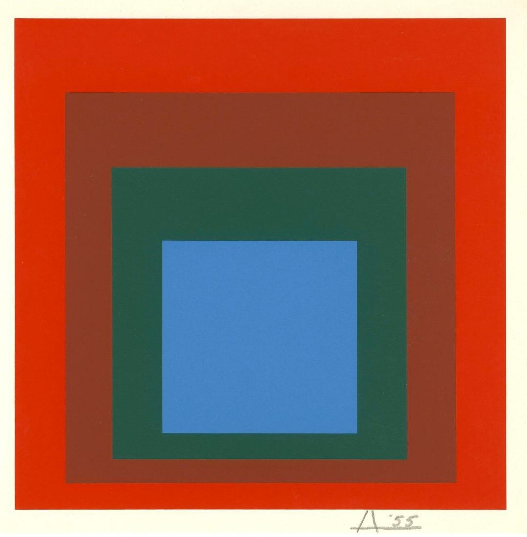 356: JOSEF ALBERS - Homage to the Square: Tigresita